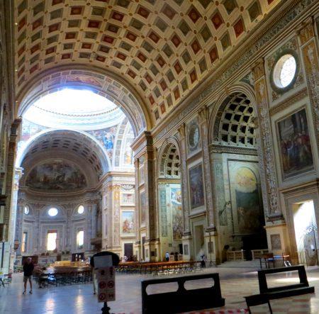 At Andrew's Basilica, Mantua